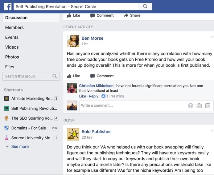 authors revolution facebook