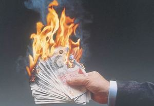 kindle reviews burning money