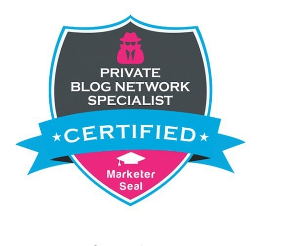 private blog network specialist certificate