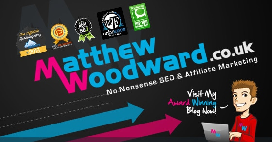 matthew woodward home logo