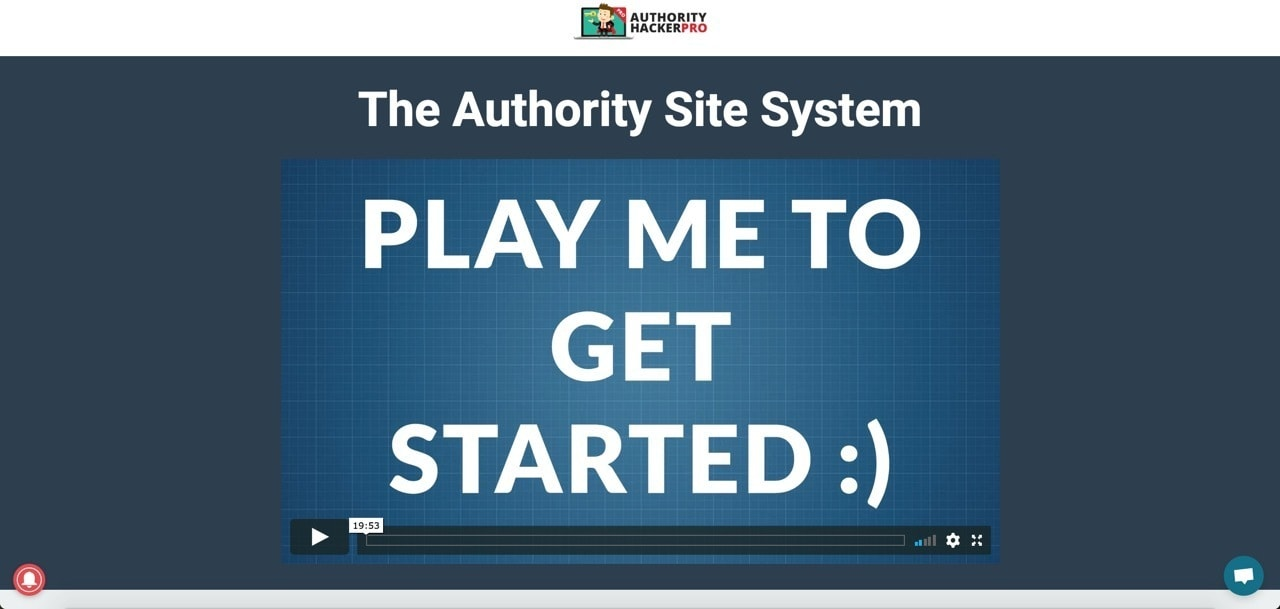authority site system start