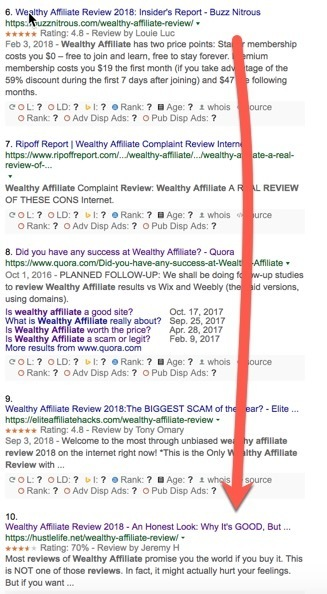 search results for wealthy affiliate review