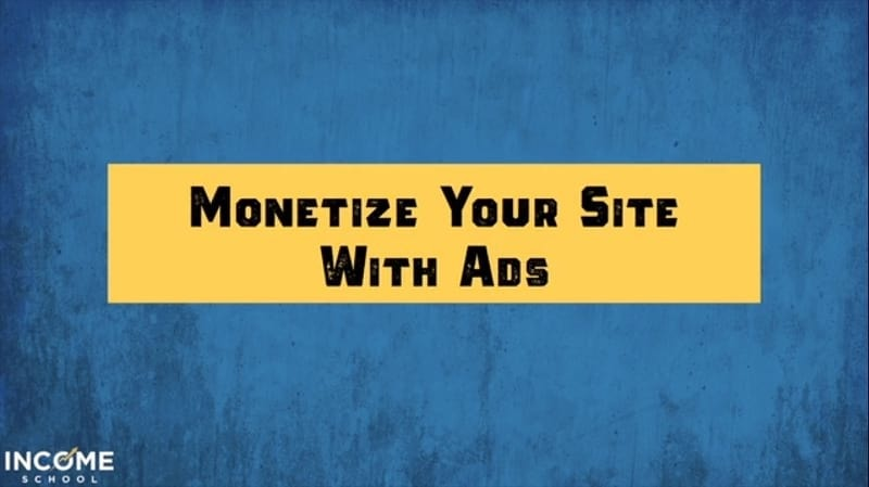 image of Monetizing Your Website with Advertise