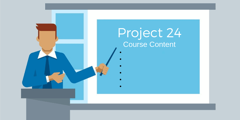 Project 24 Course Content