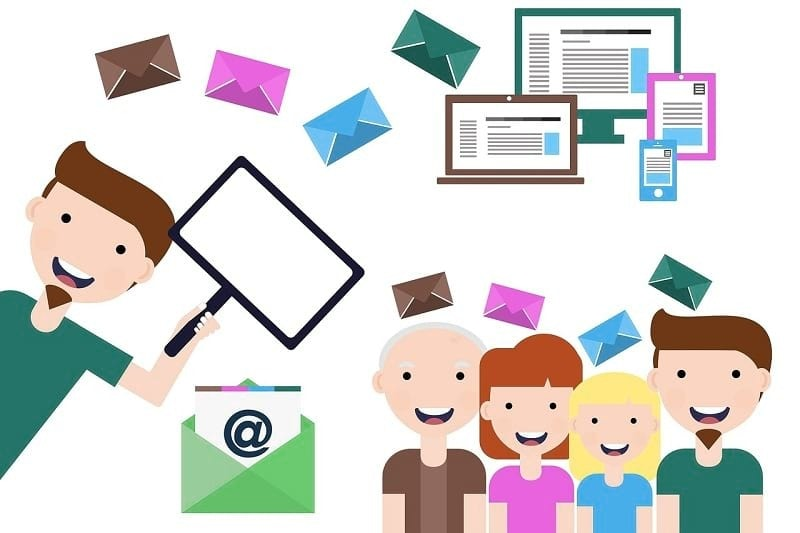image of email marketing