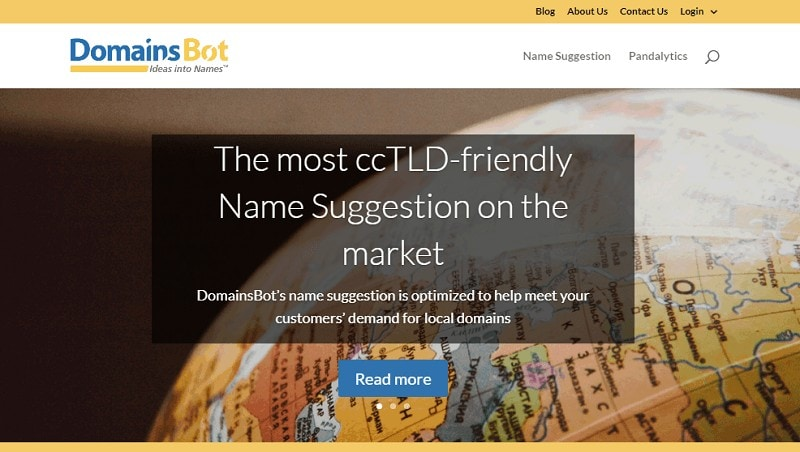 image of domainsbot.com