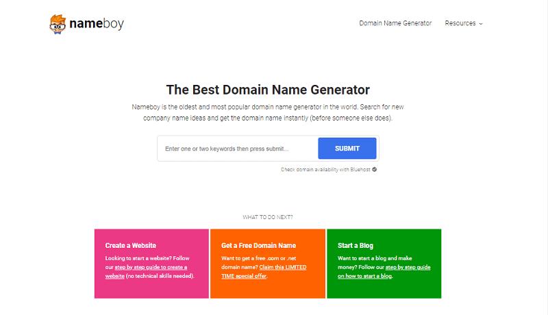 image of Nameboy.com