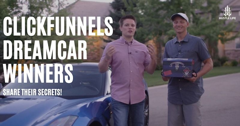 picture of clickfunnels dream car winners