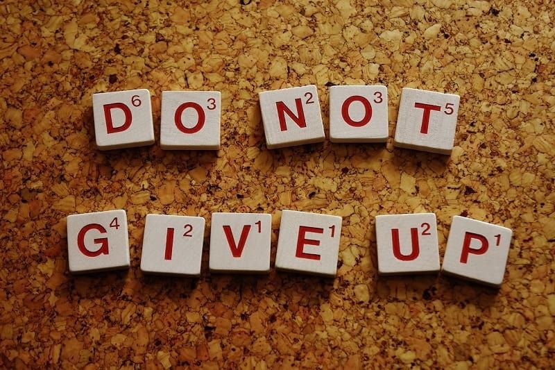 image of do not give up