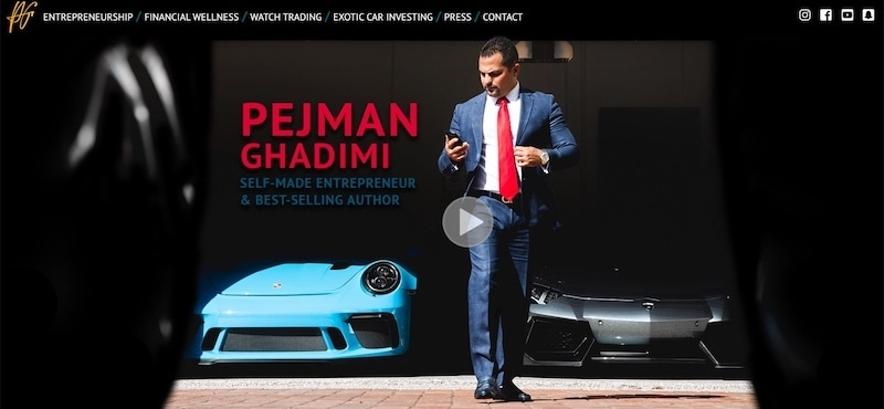 who is pejman ghadimi