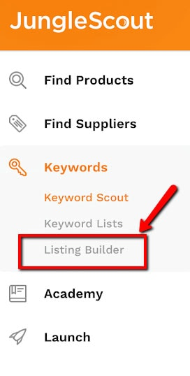 jungle scout listing builder