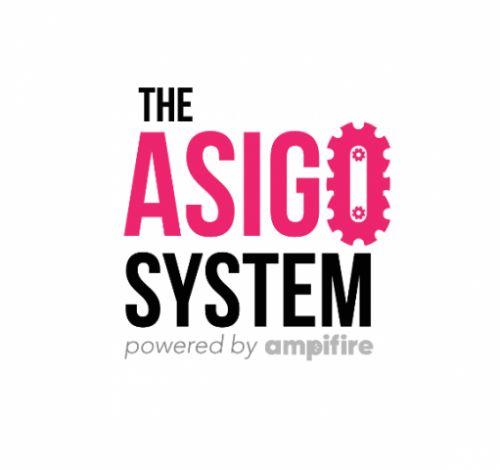 the asigo system logo