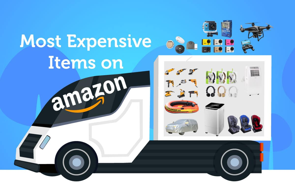 most expensive items amazon